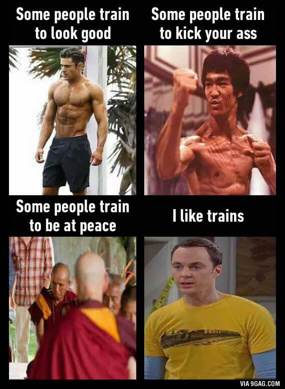 Types of trained people