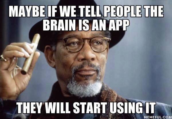 Brain as an app