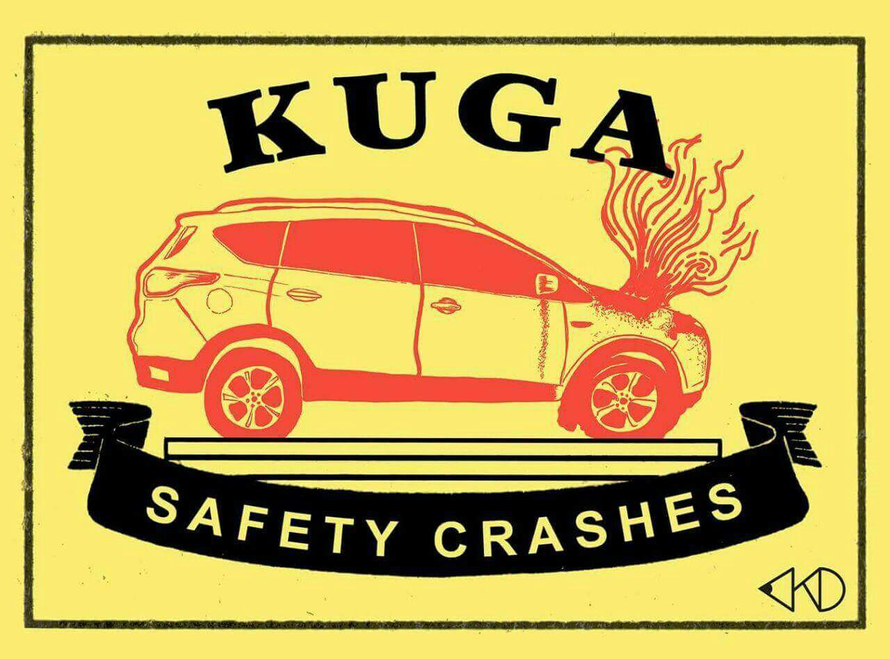 kuga fire starter kuga safety crashes whatsapp jokes funny pictures ej